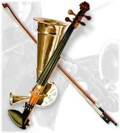 ストローバイオリン/ホーンバイオリン