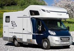 Camper hire Germany