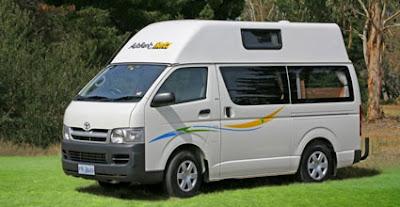 Hobart Campervan Hire