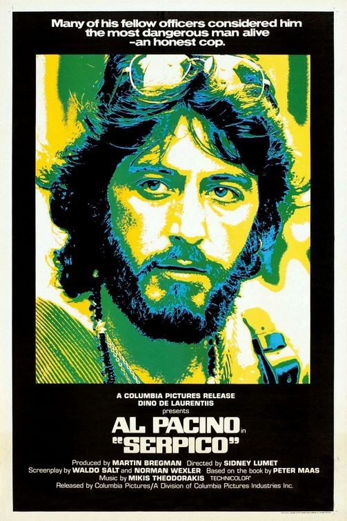 Vagebond's Movie ScreenShots: Serpico (1973)