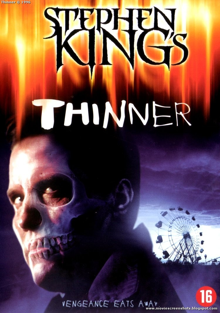 Thinner by Stephen King (Richard Bachman) - 1984 1st Edition 5th Printing HC/DJ