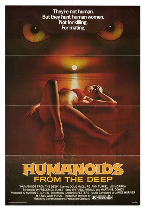 A collection of unusual screenshots from: Humanoids from the Deep