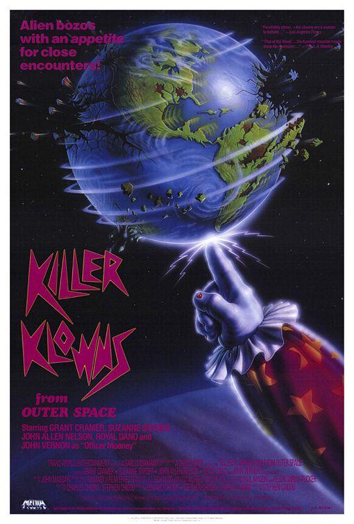 Vagebond 39 s movie screenshots killer klowns from outer for Killer klowns from outer space