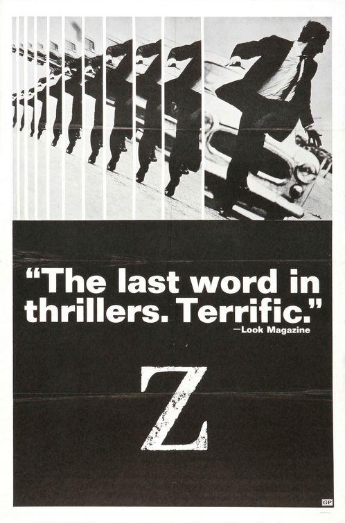 Vagebond's Movie ScreenShots: Z (1969)