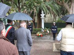 Il 3 novembre, la Cgil, l'Arci, Città Nuove e il Comune hanno ricordato B. Verro