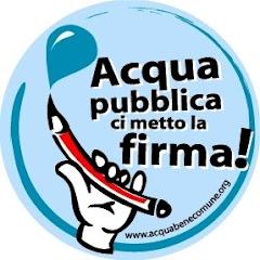 Firma per l'Acqua Pubblica