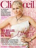 Le magazine Clin D'oeil est au rose.
