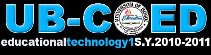 Edtech 1 2nd sem S.Y. 2010-2011