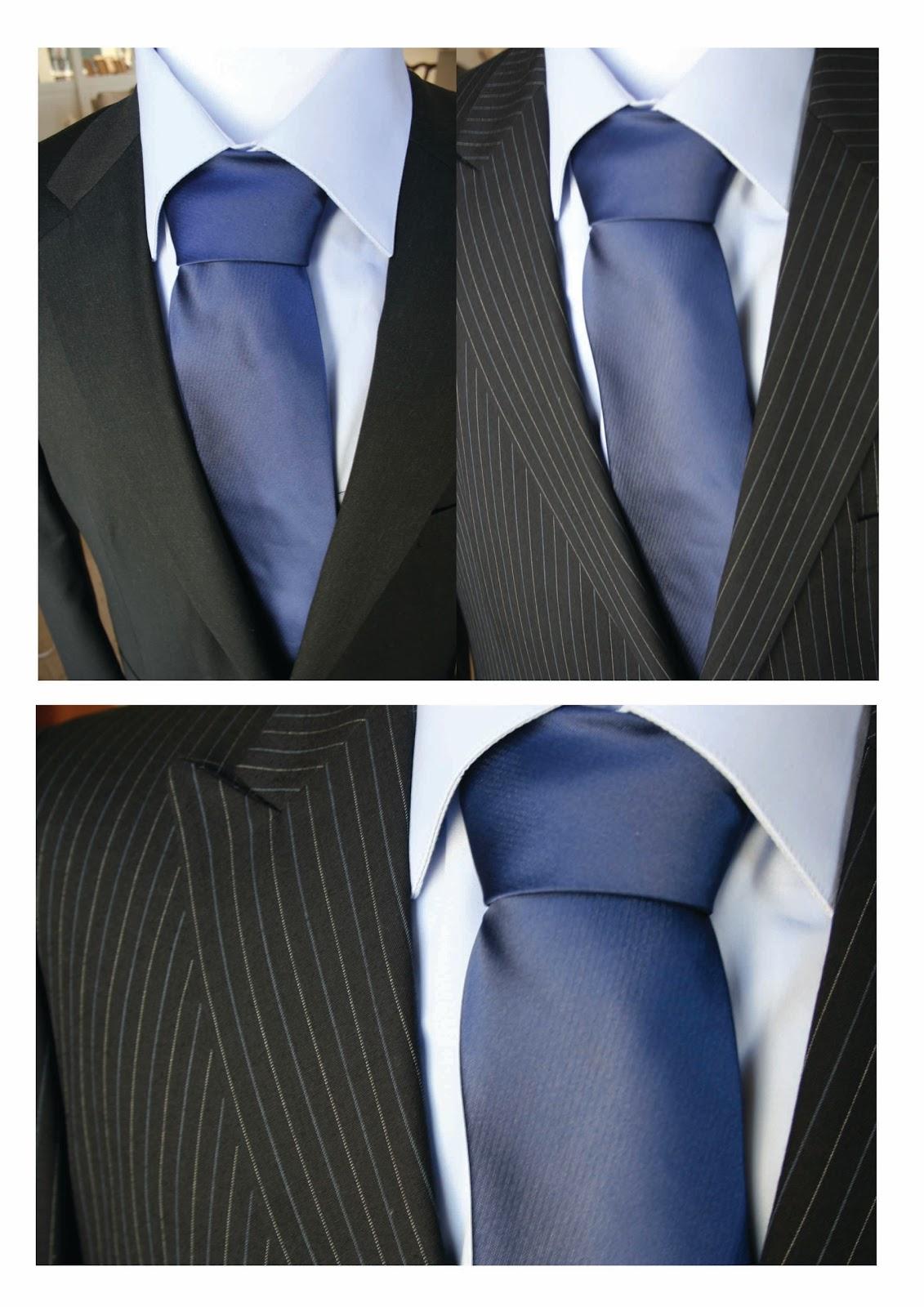 black suit and blue tie - photo #25