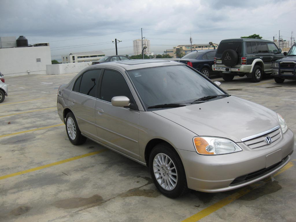 Honda Civic Ex 2002  Honda Civic 2002 Ex  La Versi U00f3n Full