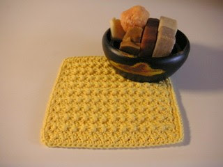 PATTERN – Crocheted Dishcloth/Washcloth — Dishcloth 6