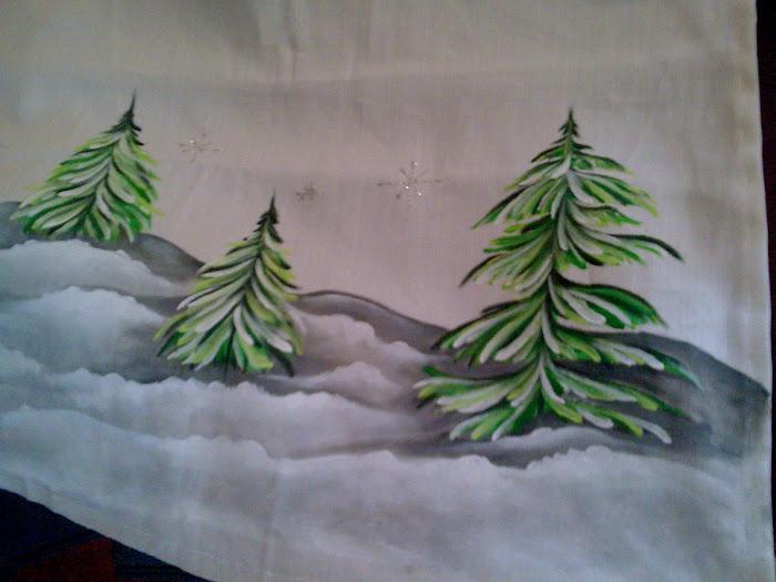 cortina de natal