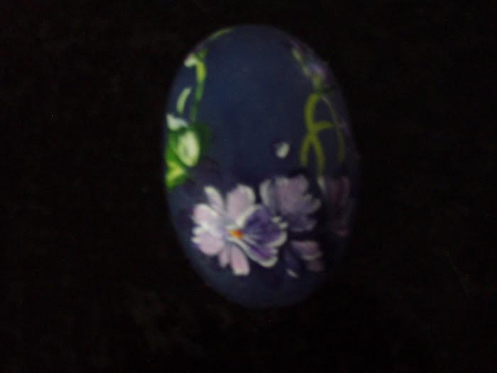 sabonete pintado a mão