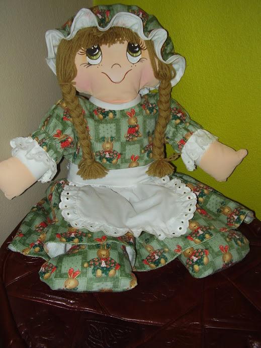 minha boneca de pano-Anita