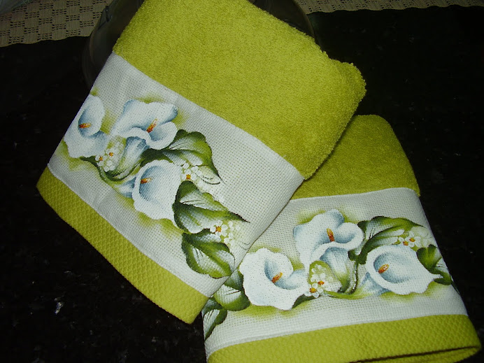 toalhas de wc -Claudia
