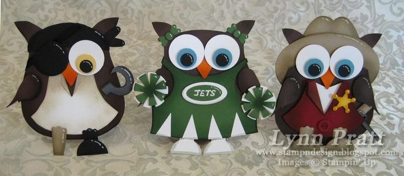Stamp-n-Design Store: Owl Cards Addition Owl