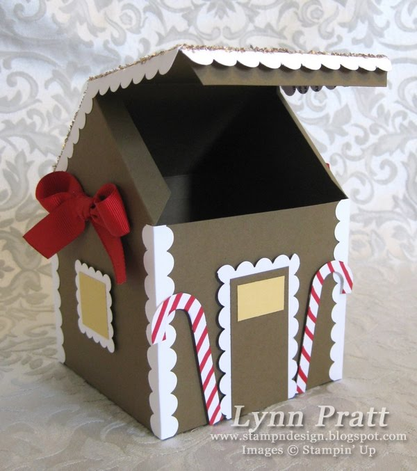 Gingerbread House Gift Box & Card | Stamp-n-Design Store