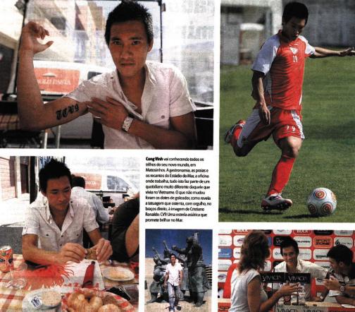 Vietnam tattoo cong vinh football player - Appartement renove hanoi hung manh tran ...