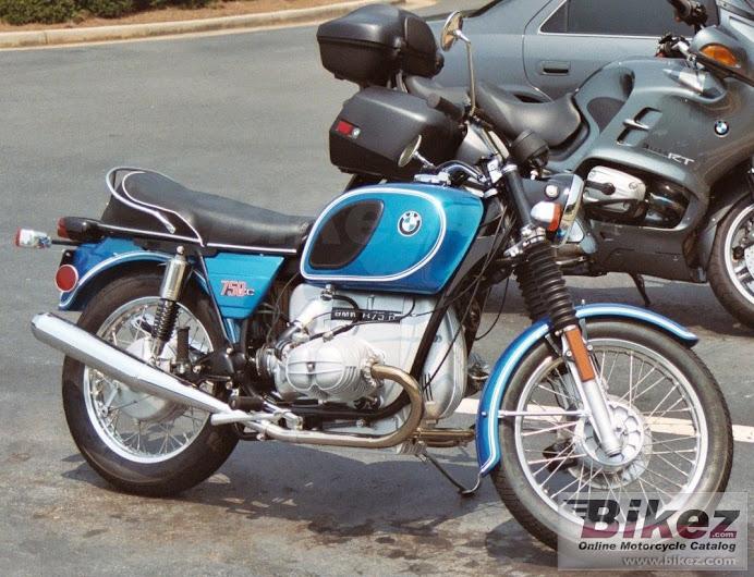 BMW R75 1974