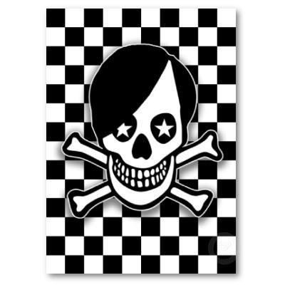 emo boy skull