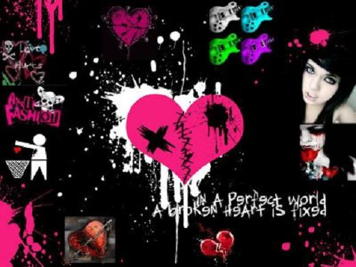 wallpaper emo kiss. Emo Background