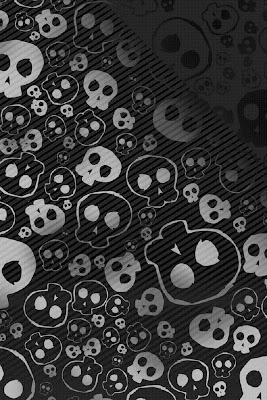 Emo Skull Background