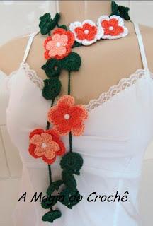 cord%C3%A3o+fiore+laranja 2012 Yeni Bayan Atkı ve Boyunluk Modelleri