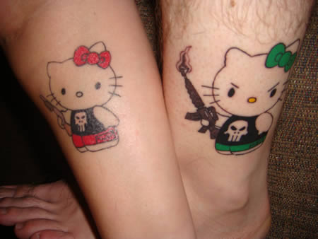 Matching Tattoos on Coolest Matching Tattoos