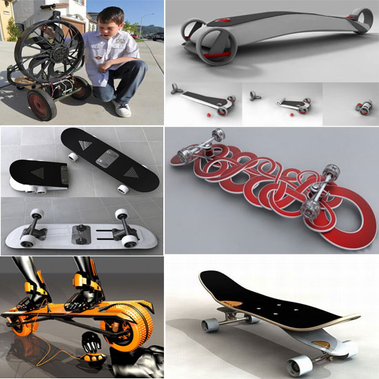Cool Skateboards design- rollers people looking for ride Seen On www.coolpicturegallery.us