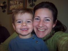 Logan and his mama