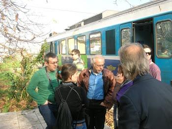 Ενα πράσινο τρένο γεμάτο ελπίδες