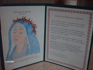 Nuestra Se  Ora De Los Dolores   15 De Septiembre