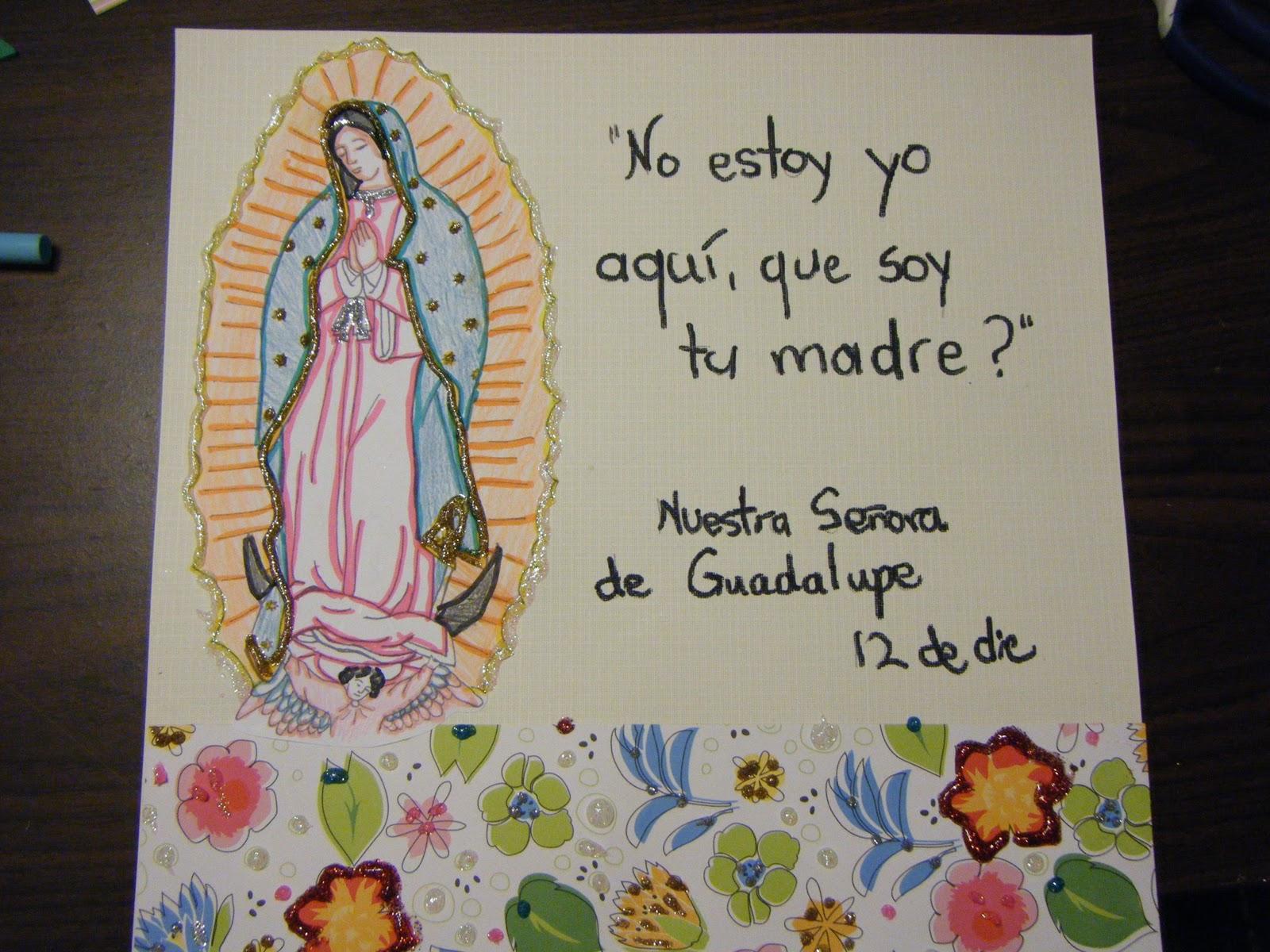 Familia Católica: Ideas para celebrar a Nuestra Señora de Guadalupe ...