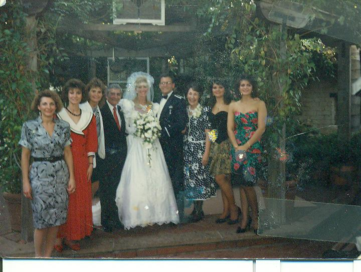 Bro David's wedding-all Michelettis-no Jim-read story as to why
