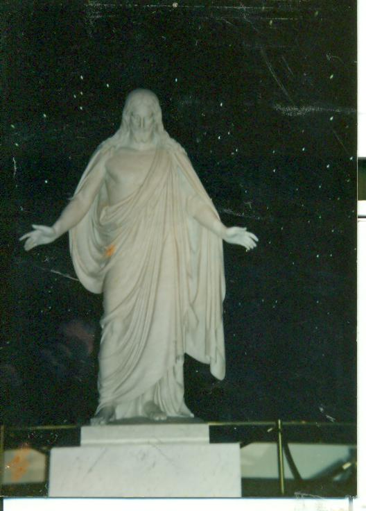 The Cristus statute of Jesus Christ! Oh my gosh! I have seen pictures, but now I am HERE! A mission