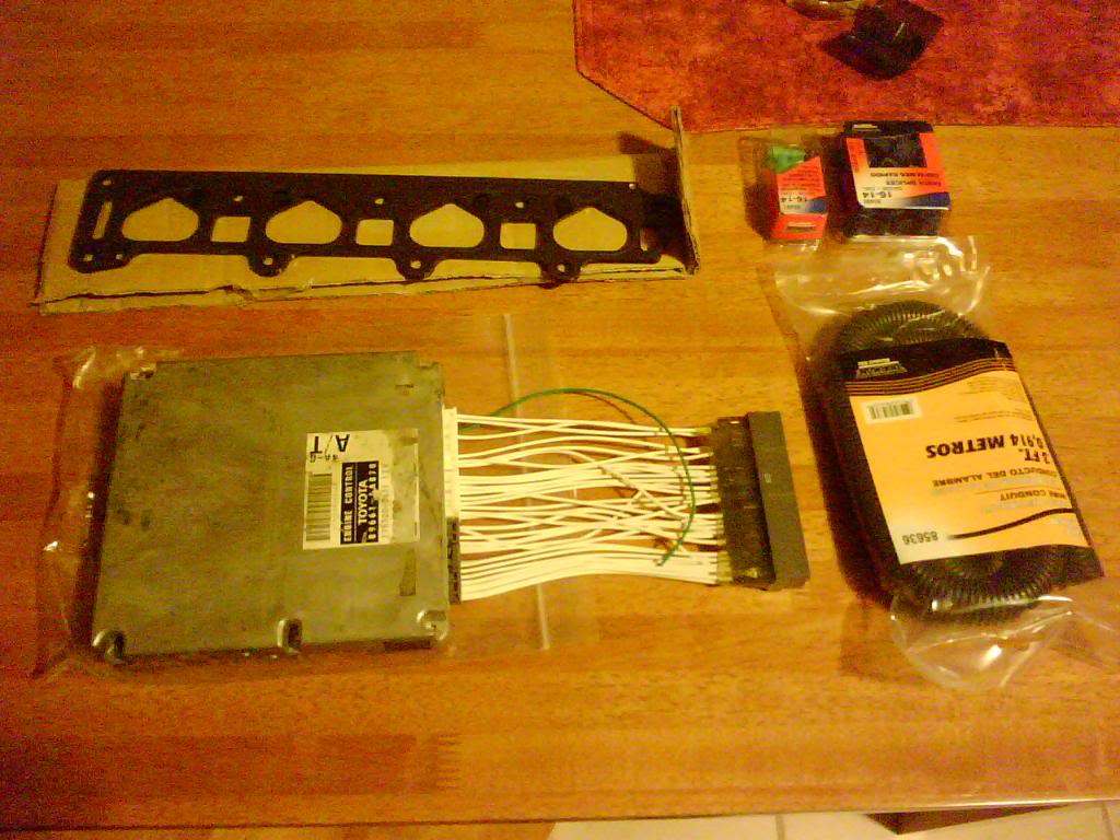 4age 20v Silvertop Open Throttles Modification Xxx Auto Parts Wiring Harness An Older Photo Of Engine W Installed