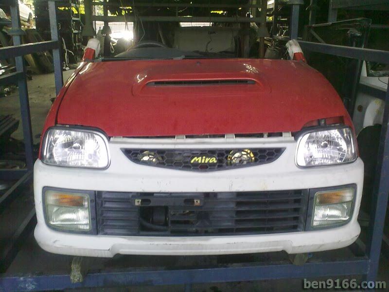 Daihatsu Mira L5. the Daihatsu Mira L502