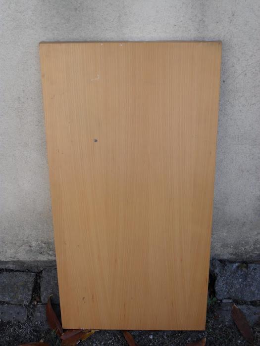 madeira antes de lacar