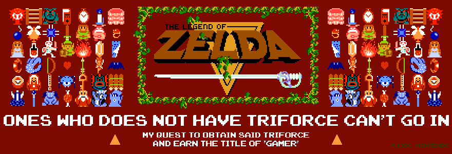 Ones Who Does Not Have Triforce Can't Go In