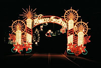 Tanglewood Festival of Lights Entrance