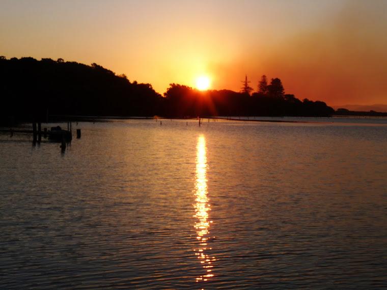 SUNSET OVER MANNING PTNSW