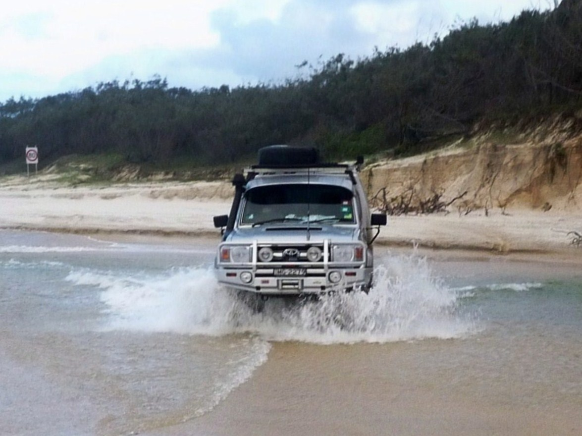 ELI CREEK DASH.....FRASER ISLAND QLD