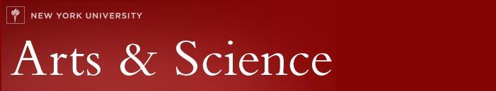 NYU Arts and Science Blog