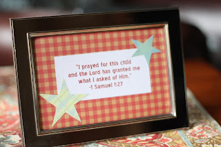 bible verse for baby shower