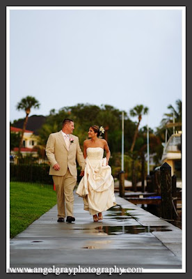 Eau Gallie Yacht Club Wedding Photography