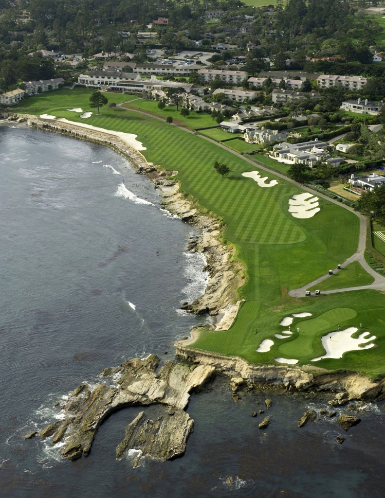 pebble beach golf courses