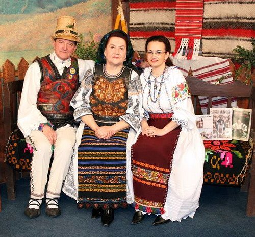 la 'Transilvania Folclor' - Baia Mare - martie 2009