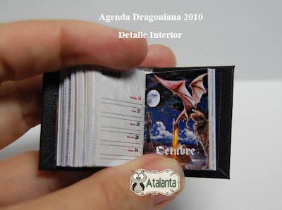 agenda - libro miniatura - minibook