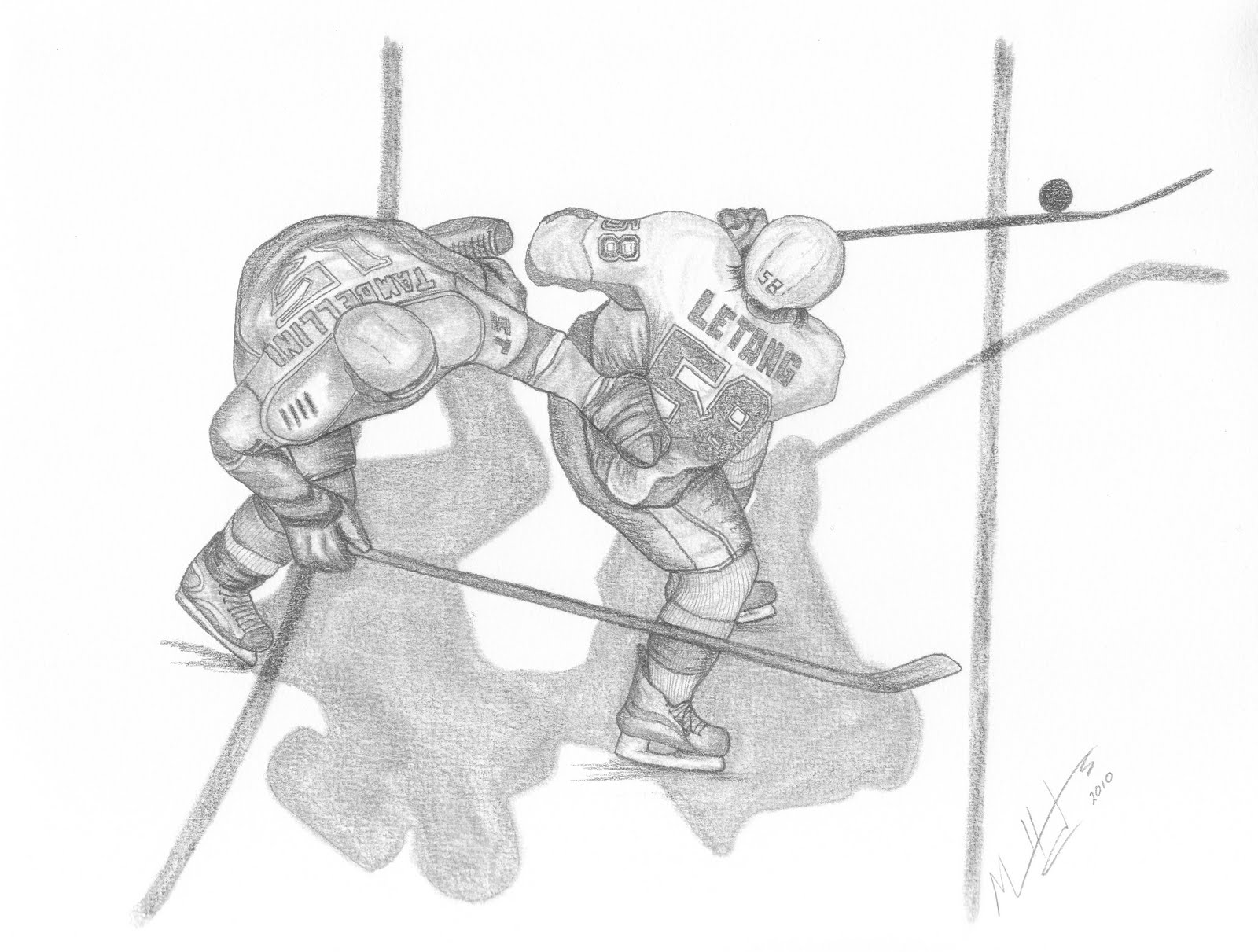 Pittsburgh Penguins Drawings