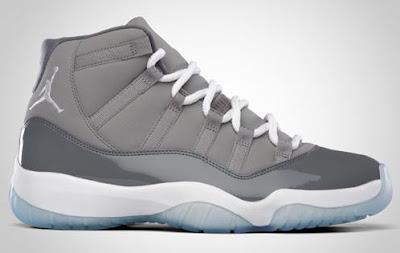 Air Jordan 11 Cool Grey.